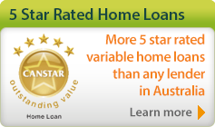 5 Star Rated Variable Home Loans