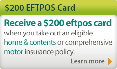 $200 EFTPOS Card