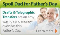 Spoil Dad for Father's Day