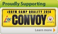 i98FM Camp Quality Convoy