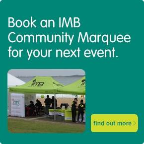 Book an IMB Community marquee for your next event.