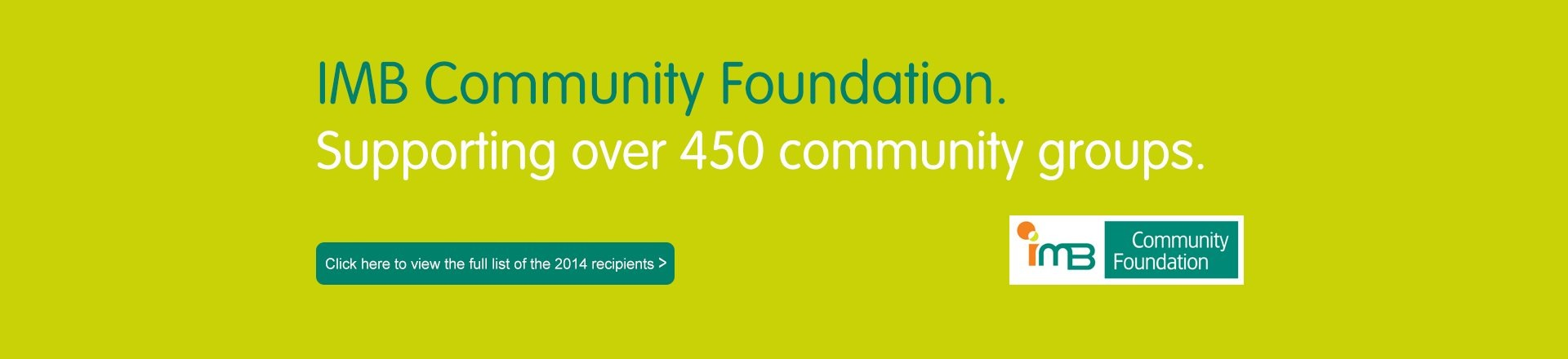 IMB | Community Foundation