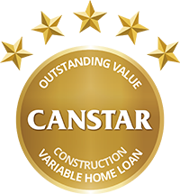 CANSTAR Outstanding Value, Construction Variable Home Loan, 2017