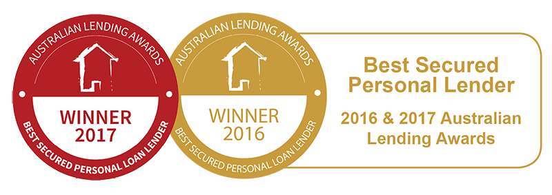 New Car Loan - Best Secured Personal Lender 2016 & 2017 Australian Lending Awards